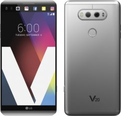 LG V20 VS995 64GB Android Smartphone - Page Plus Wireless - Silver
