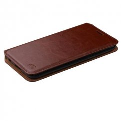 LG X Power / K6 Brown Wallet with Tray