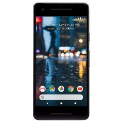 Google Pixel 2 Android Smartphone Tracfone in Quite Black