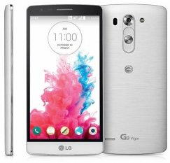 LG G3 Vigor 8GB D725 Android Smartphone - Cricket Wireless - White