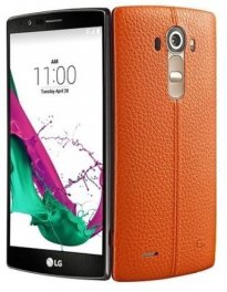 LG G4 VS986 32GB Android Smartphone for Page Plus - Orange Leather Smartphone in Orange