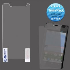 Huawei Valiant / Ascend Plus Screen Protector Twin Pack