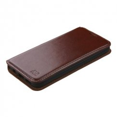 Samsung Galaxy S7 Brown Wallet with Tray