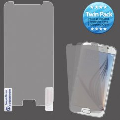 Samsung Galaxy S6 Screen Protector Twin Pack