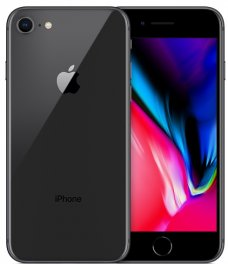 Apple iPhone 8 64GB - T-Mobile Smartphone in Space Gray
