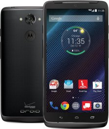 Motorola Droid Turbo 64GB XT1254 Android Smartphone for Page Plus - Ballistic Black Nylon Smartphone in Black