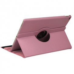 AppleiPad iPad Pro 12.9 2015 Pink Premium Rotatable Wallet