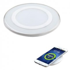 Samsung Galaxy S6 White Wireless Charger