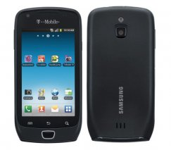 Samsung Exhibit SGH-T759 4G Android Phone - T Mobile - Black