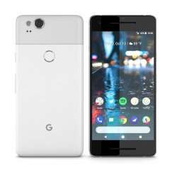Google Pixel 2 128GB Android Smartphone Cricket Wireless in Clearly White