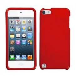 Apple iPod Touch (5th Generation) Solid Flaming Red Case