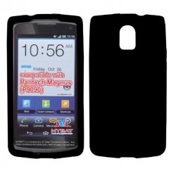 Pantech Discover Solid Skin Cover - Black
