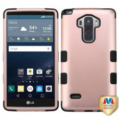 LG G Stylo Rose Gold/Black Hybrid Case