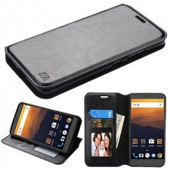 ZTE Blade Max 3 / Max XL Black Wallet with Tray