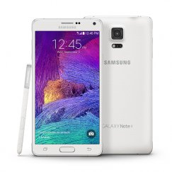 Samsung Galaxy Note 4 N910T 32GB Android Smartphone - Cricket Wireless - White