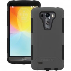 LG G3 Vigor/Mini Trident Aegis Series - Gray/Black