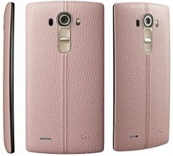 LG G4 VS986 32GB 16MP Camera 4G LTE Android Smartphone for Page Plus PINK Leather Back Smartphone in Pink