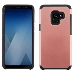 Samsung Galaxy A5 Rose Gold/Black Astronoot Phone Case