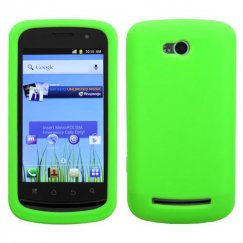 Coolpad Quattro 4G Solid Skin Cover - Electric Green