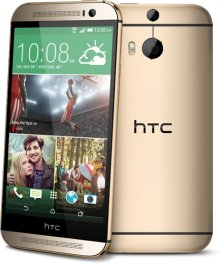 HTC One M8 32GB Android Smartphone - Tracfone - Gold