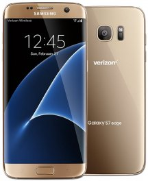 Samsung Galaxy S7 Edge 32GB G935V Android Smartphone - Straight Talk Wireless - Gold