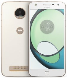 Motorola Moto Z Play XT1635 32GB Android Smartphone - Page Plus - White