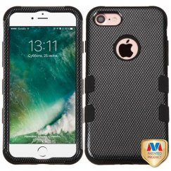 Apple iPhone 7 Carbon Fiber/Black Hybrid Case