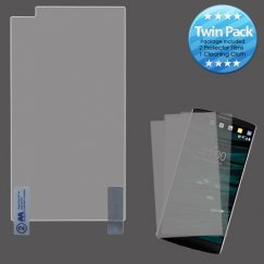LG V10 Screen Protector Twin Pack