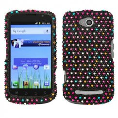 Coolpad Quattro 4G Sprinkle Dots Diamante Case