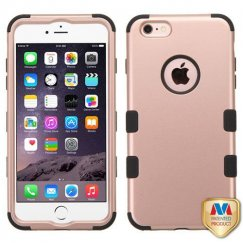 Apple iPhone 6s Plus Rose Gold/Black Hybrid Case