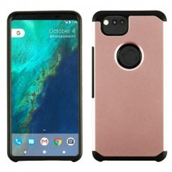 Google Pixel 2 Rose Gold/Black Astronoot Case