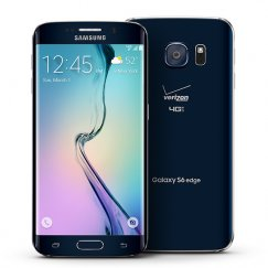 Samsung Galaxy S6 Edge 32GB Android Smartphone for Page Plus - Black Sapphire Smartphone in Black
