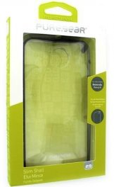 Motorola Nexus 6 PureGear Slim Shell Case - Clear/Black