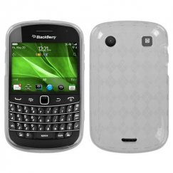 Blackberry Bold 9930 T-Clear Argyle Candy Skin Cover