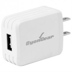CyonGear 10W/2.1A USB Power Adapter with 4ft Micro USB Cable
