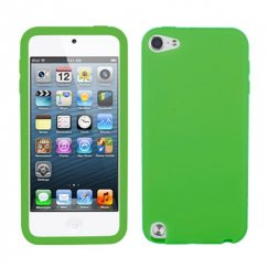 Apple iPod Touch (5th Generation) Solid Skin Cover - Green