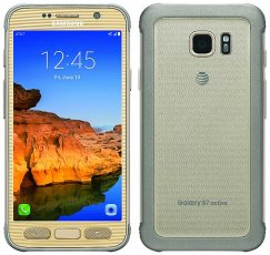 Samsung Galaxy S7 Active 32GB SM-G891A Android Smartphone - Straight Talk Wireless - Gold