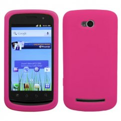 Coolpad Quattro 4G Solid Skin Cover - Hot Pink