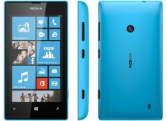 Nokia Lumia 520 WiFi GPS Camera Windows Blue Smart Phone ATT