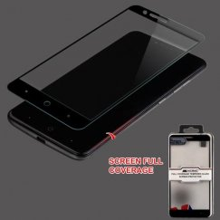 ZTE Blade Z Max / Sequoia Z982 Full Coverage Tempered Glass Screen Protector/Black
