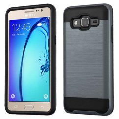 Samsung Galaxy On5 Ink Blue/Black Brushed Hybrid Case