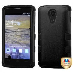 ZTE Uhura N817 Natural Black/Black Hybrid Case