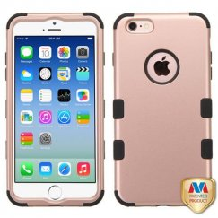 Apple iPhone 6s Rose Gold/Black Hybrid Case
