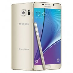 Samsung Galaxy Note 5 32GB N920A Android Smartphone - Straight Talk Wireless - Platinum Gold