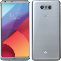 LG G6 H871 32GB Android Smartphone - Cricket Wireless - Platinum