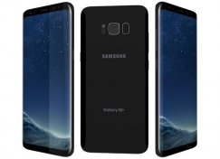 Samsung Galaxy S8 Plus 64B SM-G955U Android Smartphone - Straight Talk Wireless - Midnight Black