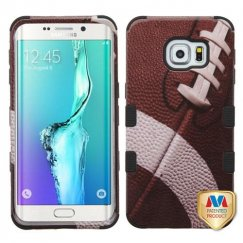 Samsung Galaxy S6 Edge Plus Football/Black Hybrid Case
