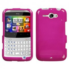HTC Status Solid Hot Pink Case
