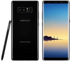 Samsung Galaxy Note 8 N950U 64GB Android Smartphone - Ting Wireless - Midnight Black