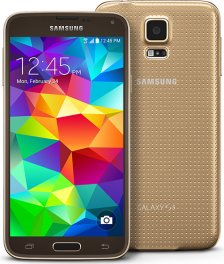 Samsung Galaxy S5 16GB SM-G900 Android Smartphone - Ting - Gold